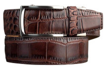 Nexbelt: Men's Alligator Series 2.0 Dress Belt - Coffee