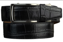 Nexbelt: Men's Alligator Series 2.0 Dress Belt - Black