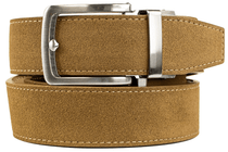 Nexbelt: Men's Suede Series Dress Belt - Tan