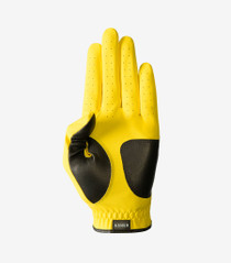 Asher Golf: Women's Chuck 2.0 Golf Glove - Yellow