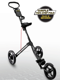 Bag Boy: Express 500 Push Cart - Matte Black/Red