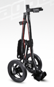 Bag Boy: Express 500 Push Cart - Matte Black/Red *Shipping Late September*