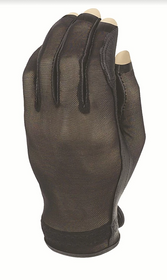 Evertan: Women's Tan Through Three Quarter Golf Glove - Black Pearl