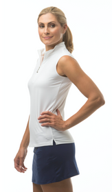 SanSoleil: Ladies UPF 50 Sunglow Sleeveless Mock - 900439