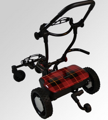 "CaddyTrek: R2 ""Highlander"" Electric Golf Cart"
