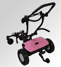 "Caddytrek: R2 ""Pink Lady"" Electric Golf Cart"