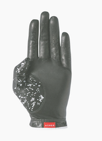 Asher Golf: Mens Premium Golf Glove - Jet Black