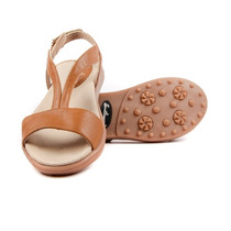 Sandbaggers Women's Golf Sandals: Morgan Butterscotch Brown (Size 10)SALE