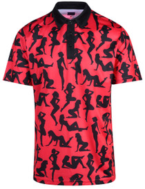 Ladies In Red Mens Golf Polo Shirt by ReadyGOLF