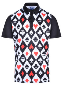 Casino Royale Mens Golf Polo Shirt by ReadyGOLF