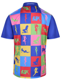 Peep Show Mens Golf Polo Shirt by ReadyGOLF
