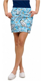 Loudmouth Golf: Women's StretchTech Skort - Partini