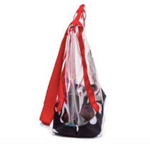 Sassy Caddy: Clear Tote Bag - Monte Carlo