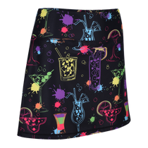 Cocktail Splash Ladies Active SKORT by ReadyGOLF
