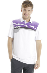 Chase 54: Men's Short Sleeve Polo - Vista