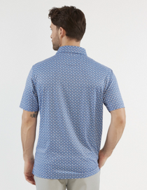 Chase 54: Men's Short Sleeve Polo - Flamingo