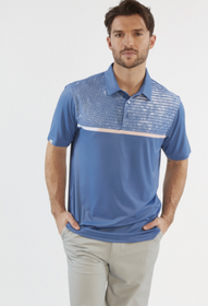 Chase 54: Men's Short Sleeve Polo - Coastal