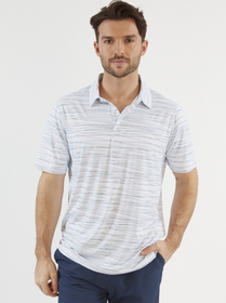 Chase 54: Men's Short Sleeve Polo - Reel