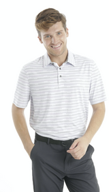 Chase 54: Men's Short Sleeve Polo - Steps