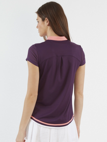 Chase 54: Women's Short Sleeve Polo - Progress