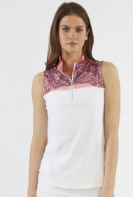 Chase 54: Women's Sleeveless Polo - Sense