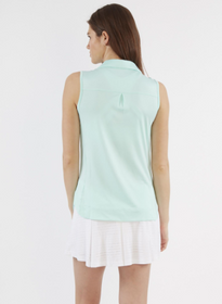Chase 54: Women's Sleeveless Polo - Calibur