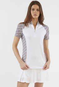 Chase 54: Women's Short Sleeve Polo - Spirited