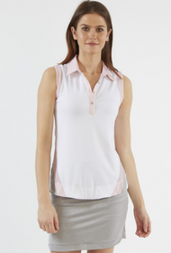 Chase 54: Women's Sleeveless Polo - Ideal