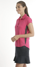 Chase 54: Women's Short Sleeve Polo - Agile