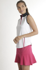 Chase 54: Women's Sleeveless Polo - Venom