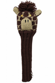 Sunfish: Hand-Knit Animal Headcovers - Driver (Giraffe) SALE