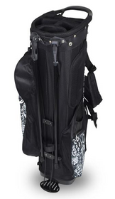 Hotz Golf: Ladies 2.0 Lace Stand Bag - Black/White  ***Estimated Restock Date – Mid-Late Sept 2021