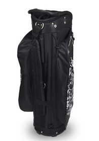 Hotz Golf: Ladies 3.5 Lace Cart Bag - Black/White