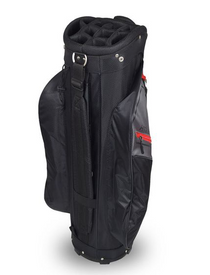 Hot-Z Golf: 2.5 Cart Bag - Black/Gray/Red