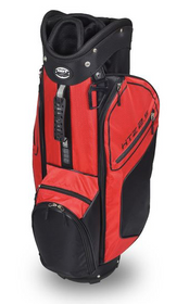 Hot-Z Golf: 2.5 Cart Bag - Black/Red