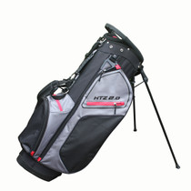 Hot-Z Golf: 2.0 Stand Bag - Black/Grey/Red
