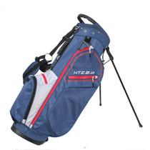 Hot-Z Golf: 2.0 Stand Bag - Red/White/Blue ***Estimated Restock Date – Mid/Late Aug 2021