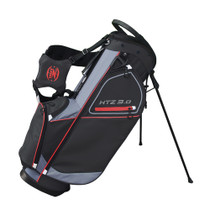 Hot-Z Golf: 3.0 Stand Bag - Black/Grey/Red