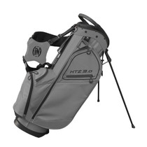 Hot-Z Golf: 3.0 Stand Bag - Gray/Black **Estimated Ship Date – Late May 2021