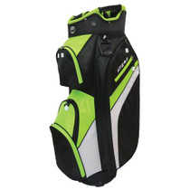 Hot-Z Golf: 4.0 Cart Bag - Black/Lime/White *Estimated Ship Date end of February
