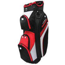 Hot-Z Golf: 4.0 Cart Bag - Black/Red/White *Estimated Ship Date end of February