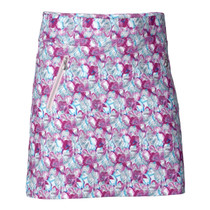 Daily Sports: Women's Paisley Skort - Azul (Longer Style) (Size: Medium) SALE