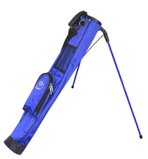 Hot-Z Golf: 1.0 Stand Bag - Blue ***Estimated Restock Date – Mid/Late Oct 2021