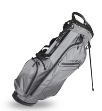 Hot-Z Golf: 2.0 Stand Bag - Grey/Black ***Estimated Restock Date – Mid/Late Aug 2021