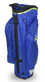 Hot-Z Golf: 3.5 Cart Bag - Blue/Lime