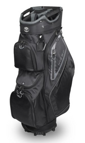 Hot-Z Golf: 5.0 Cart Bag - Black/Gray
