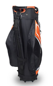 Hot-Z Golf: 5.0 Cart Bag - Black/Orange/White