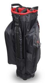 Hot-Z Golf: 6.0 Cart Bag - Black/Gray/Red
