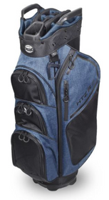 Hot-Z Golf: 6.0 Cart Bag - Blue/Black
