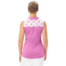 Nancy Lopez Golf: Women's Sleeveless Polo - Subtle
